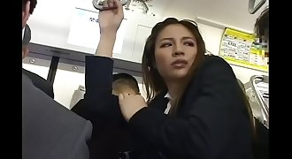 Pretty Asian women were molested on the bus - Pt2 On HDMilfCam.com
