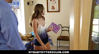 MyBabySittersClub - Babysitter Escort Fucked Then Hired