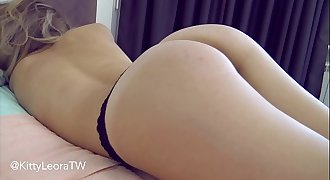 Hot Teen Babe Suck Hard-on and Riding - Kitty Leora