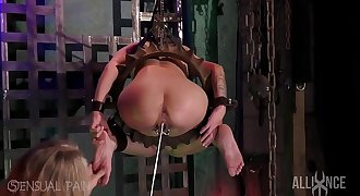 Assfuck Slut slave odd insertion deepthroat BDSM
